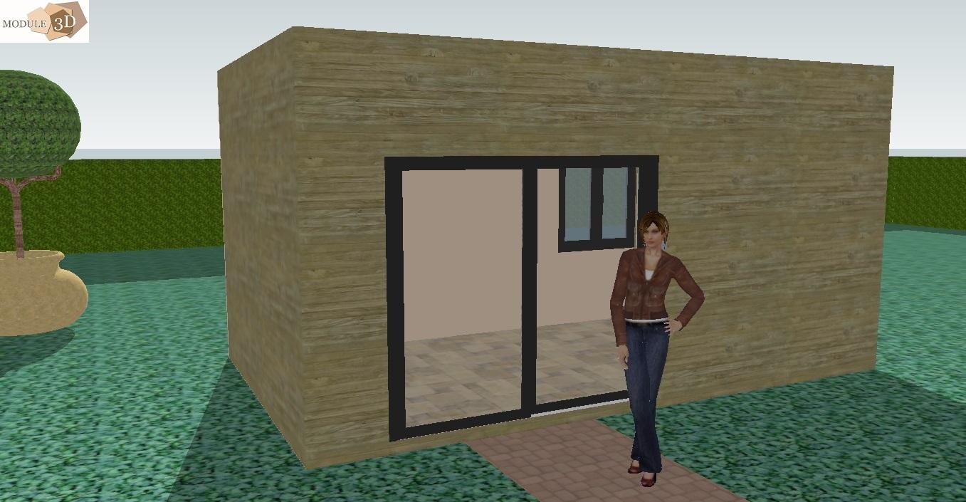 Extension de maison en kit une extension pour les pices for Module extension maison