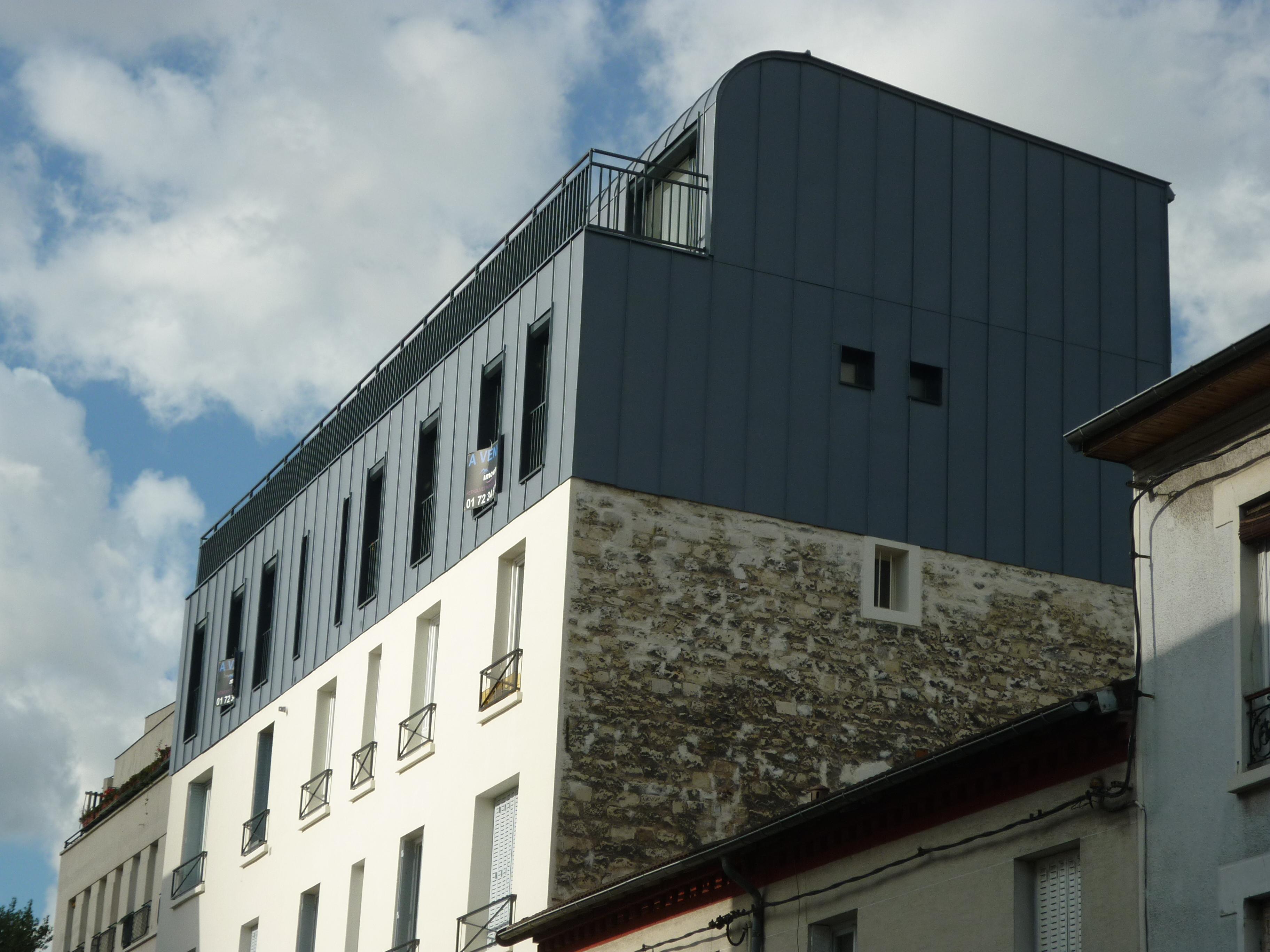 Surélévation Montreuil - MODULE 3D